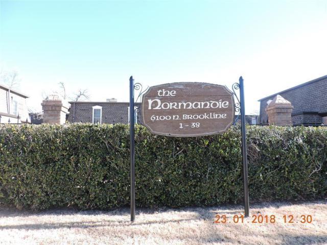 6100 N Brookline Avenue #17, Oklahoma City, OK 73112 (MLS #807911) :: Wyatt Poindexter Group