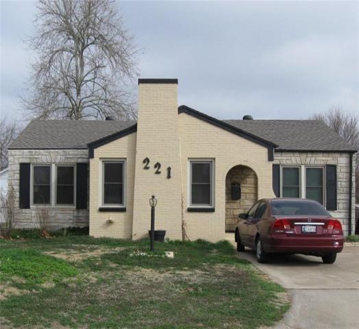 221 W Fairchild Drive, Midwest City, OK 73110 (MLS #807976) :: Wyatt Poindexter Group