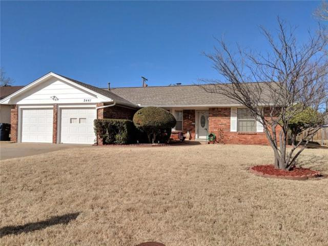 2441 NW 110th Street, Oklahoma City, OK 73120 (MLS #808024) :: Barry Hurley Real Estate
