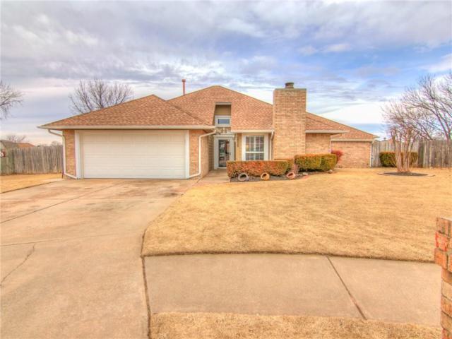 2329 Eastridge Circle, Moore, OK 73160 (MLS #808038) :: Barry Hurley Real Estate
