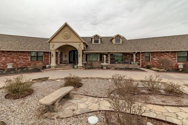 12509 N Frisco Road, Yukon, OK 73099 (MLS #808166) :: Wyatt Poindexter Group