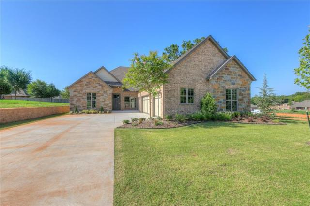 4124 Carmina Drive, Edmond, OK 73034 (MLS #808222) :: Wyatt Poindexter Group