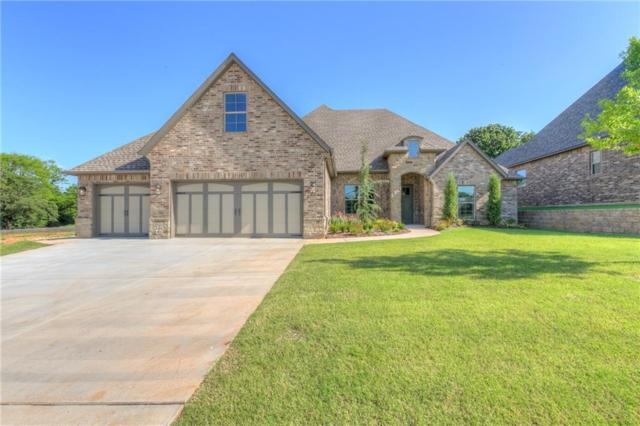 4133 Carmina Drive, Edmond, OK 73034 (MLS #808223) :: Wyatt Poindexter Group