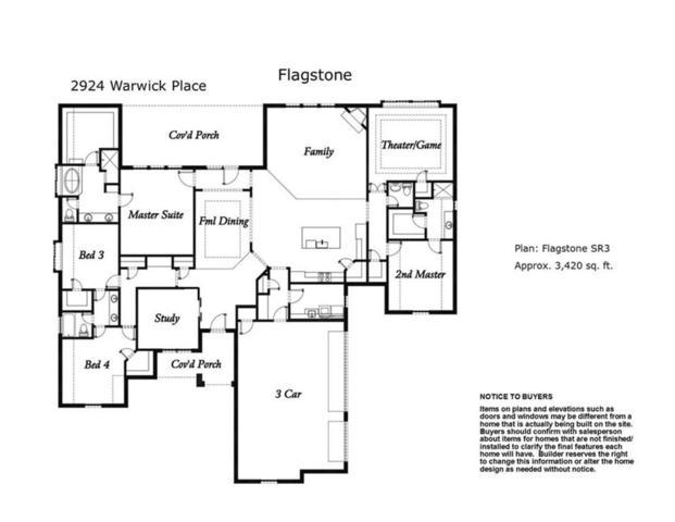 2924 Warwick Place, Edmond, OK 73013 (MLS #808239) :: Wyatt Poindexter Group