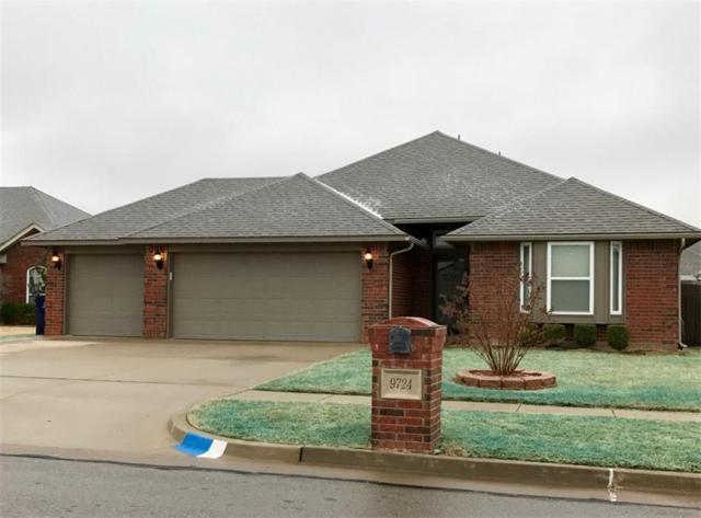 9724 SW 18th Street, Oklahoma City, OK 73128 (MLS #808323) :: Wyatt Poindexter Group