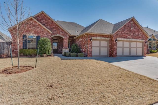 16308 Josiah Place, Edmond, OK 73013 (MLS #808421) :: Wyatt Poindexter Group