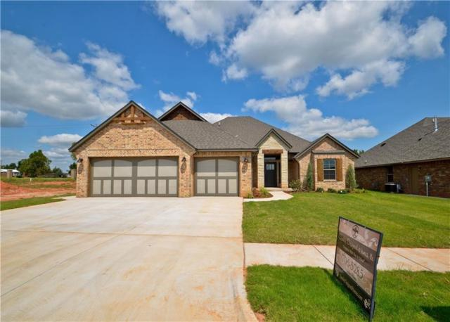 12121 SW 45th Terrace, Mustang, OK 73064 (MLS #808669) :: Wyatt Poindexter Group