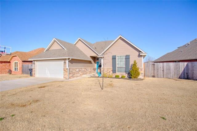 1600 Post Oak Lane, Moore, OK 73160 (MLS #808900) :: Wyatt Poindexter Group