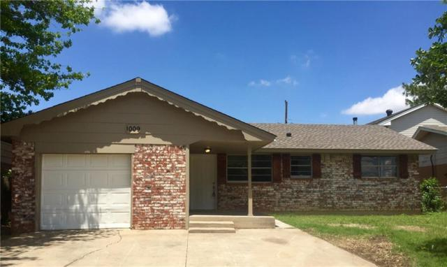 1009 NW 28th Street, Moore, OK 73160 (MLS #809099) :: KING Real Estate Group