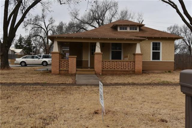 603 N Main, Elk City, OK 73644 (MLS #809236) :: Homestead & Co