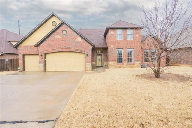813 Justin Drive, Yukon, OK 73099 (MLS #809762) :: Erhardt Group at Keller Williams Mulinix OKC