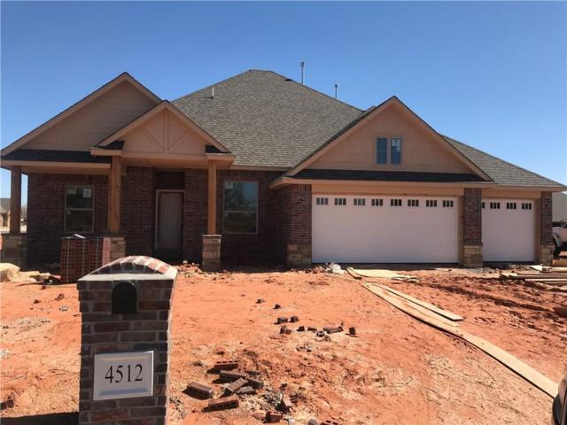 4512 Hambletonian Lane, Mustang, OK 73064 (MLS #809979) :: Erhardt Group at Keller Williams Mulinix OKC