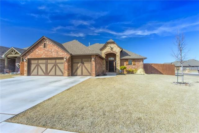1921 NE 25th Street, Moore, OK 73160 (MLS #810036) :: Erhardt Group at Keller Williams Mulinix OKC