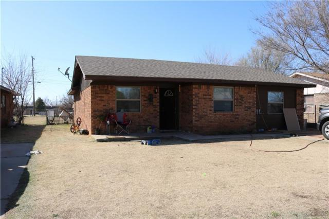 723 S Monroe, Hobart, OK 73651 (MLS #810040) :: Homestead & Co