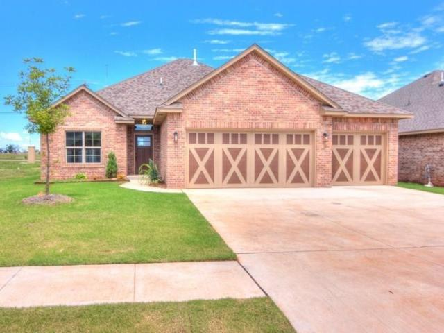 1913 NE 27th Terrace, Moore, OK 73160 (MLS #810079) :: Erhardt Group at Keller Williams Mulinix OKC
