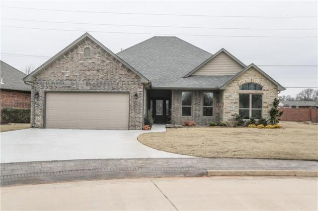 1250 Troon Circle, Shawnee, OK 74801 (MLS #810218) :: Wyatt Poindexter Group