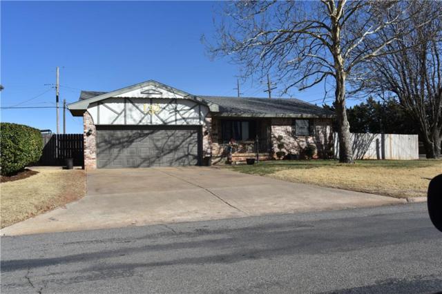 132 Merritt, Elk City, OK 73644 (MLS #810297) :: Wyatt Poindexter Group