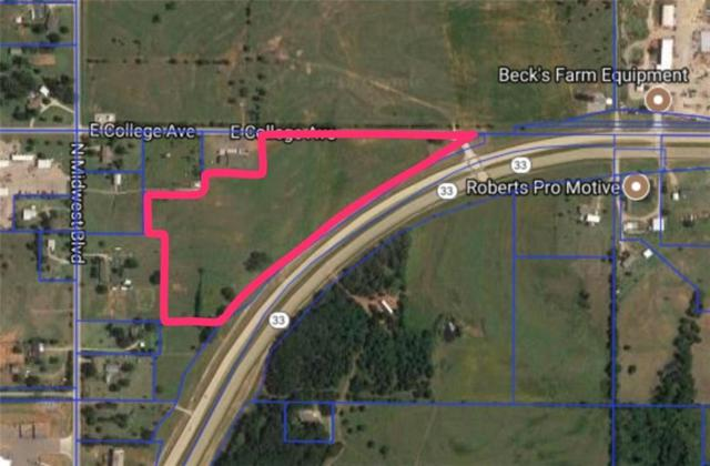 0 Hwy 33 E, Guthrie, OK 73044 (MLS #810320) :: Homestead & Co