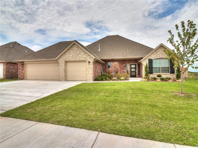 4001 Carmona Lakes Drive, Moore, OK 73160 (MLS #810488) :: Wyatt Poindexter Group