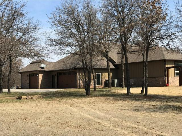 11688 State Highway 74B, Blanchard, OK 73010 (MLS #810526) :: Barry Hurley Real Estate