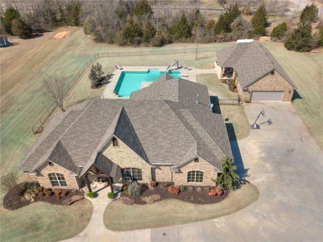 4501 Jacobs Lane, Choctaw, OK 73020 (MLS #810741) :: Erhardt Group at Keller Williams Mulinix OKC