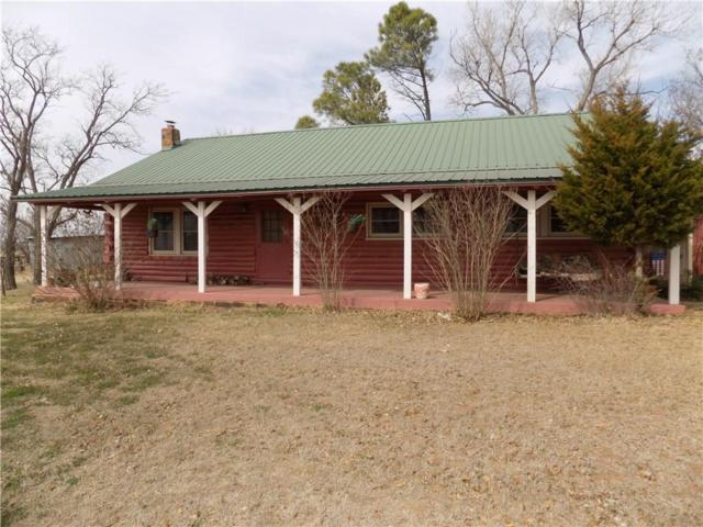 1409 W Mountain Heights, Fort Cobb, OK 73038 (MLS #810753) :: Wyatt Poindexter Group