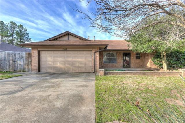 1163 Robin Hood, Norman, OK 73072 (MLS #810947) :: Meraki Real Estate