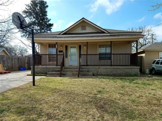 216 SE 34th Street, Oklahoma City, OK 73129 (MLS #811855) :: Erhardt Group at Keller Williams Mulinix OKC