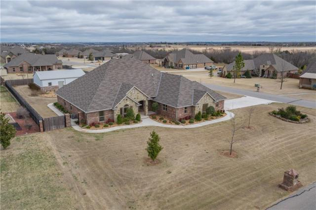 4609 Timber Ridge Road, Tuttle, OK 73089 (MLS #811912) :: Erhardt Group at Keller Williams Mulinix OKC