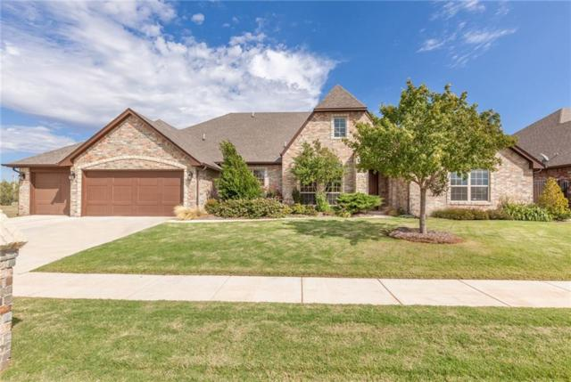 14904 Winoma Drive, Edmond, OK 73142 (MLS #811962) :: Wyatt Poindexter Group