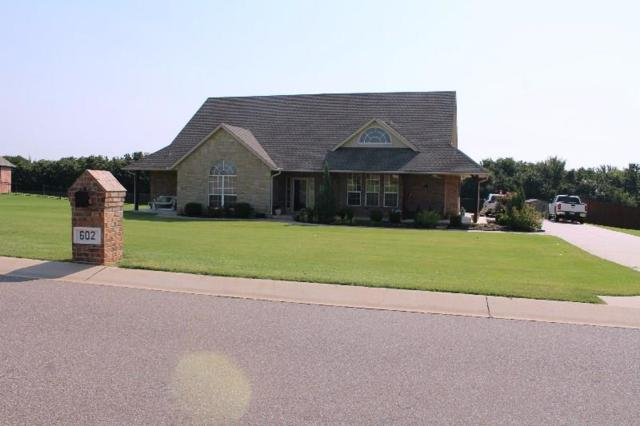602 Silver Tree Circle, Choctaw, OK 73020 (MLS #812450) :: Erhardt Group at Keller Williams Mulinix OKC
