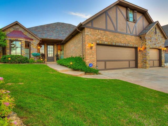 16637 Little Leaf Lane, Edmond, OK 73012 (MLS #812605) :: UB Home Team