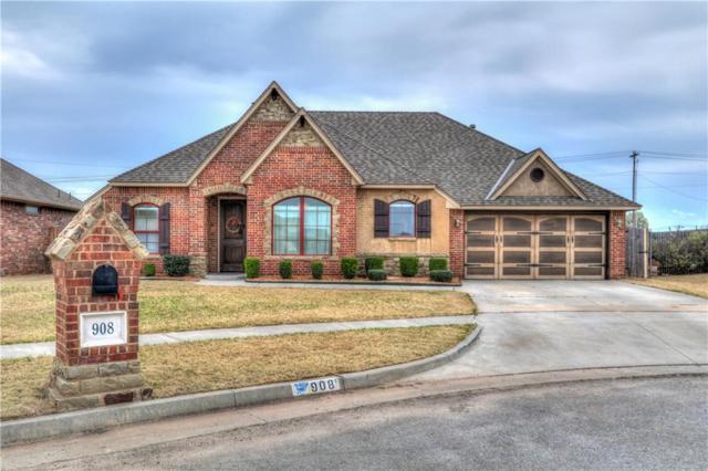 908 Carol Ann Place, Moore, OK 73160 (MLS #812783) :: Barry Hurley Real Estate
