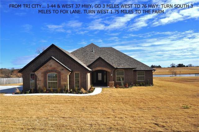 961 County Street 2982, Blanchard, OK 73010 (MLS #813055) :: Wyatt Poindexter Group