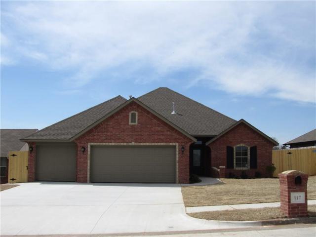 517 Cottonwood, Moore, OK 73160 (MLS #813086) :: Wyatt Poindexter Group