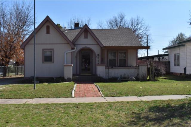 314 W Kentucky, Anadarko, OK 73005 (MLS #813306) :: Wyatt Poindexter Group