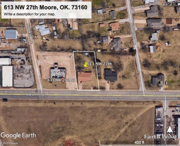 613 NW 27th Street, Moore, OK 73160 (MLS #813311) :: Barry Hurley Real Estate