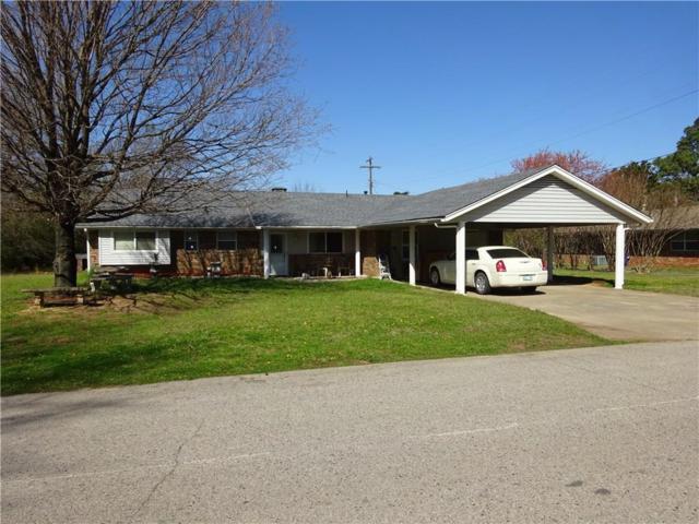 123 Moore Avenue, Holdenville, OK 74848 (MLS #813508) :: Wyatt Poindexter Group