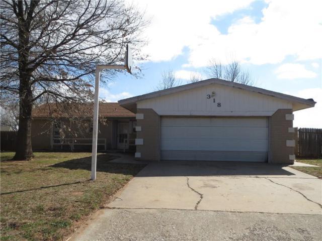 318 W Windsor Way, Mustang, OK 73064 (MLS #813574) :: Wyatt Poindexter Group
