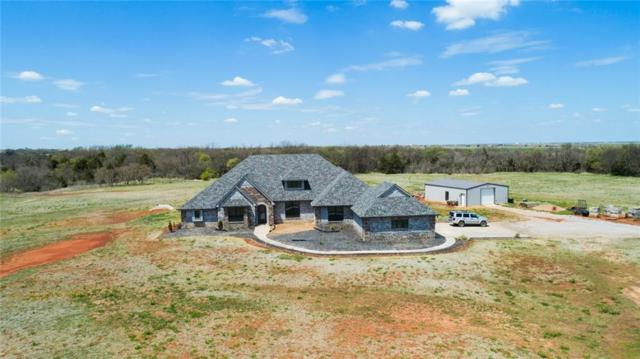 26140 N 2940 Road, Kingfisher, OK 73750 (MLS #813602) :: UB Home Team