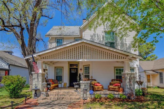 612 E Mansur Avenue, Guthrie, OK 73044 (MLS #813681) :: UB Home Team