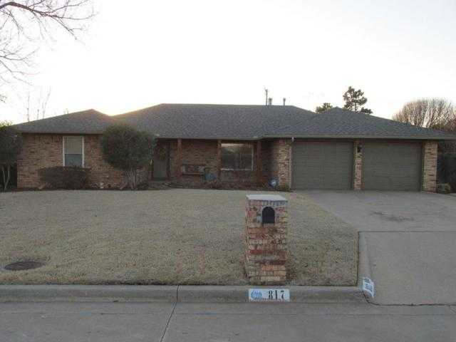 817 Cambridge, Altus, OK 73521 (MLS #813763) :: Barry Hurley Real Estate