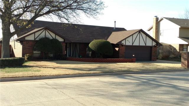 6718 Briarcreek Drive, Oklahoma City, OK 73162 (MLS #813846) :: Wyatt Poindexter Group