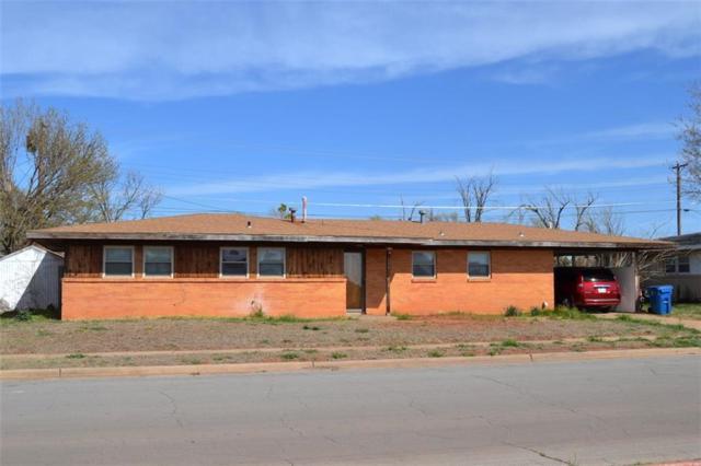 104 Cherokee Trail, Burns Flat, OK 73624 (MLS #813985) :: Wyatt Poindexter Group
