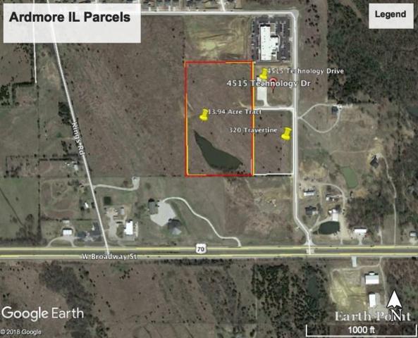 320 Travertine Drive, Ardmore, OK 73401 (MLS #814129) :: Barry Hurley Real Estate