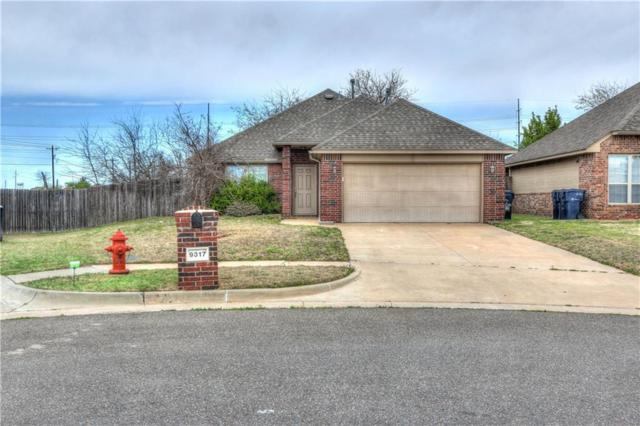 9317 NW 76th Street, Yukon, OK 73099 (MLS #814190) :: Wyatt Poindexter Group