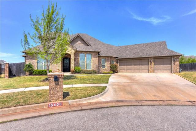 15405 Essex Court, Edmond, OK 73013 (MLS #814228) :: Keller Williams Mulinix OKC
