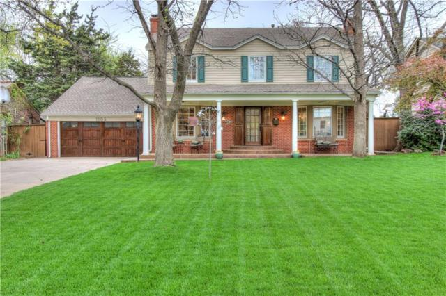 1105 Huntington Avenue, Nichols Hills, OK 73116 (MLS #814334) :: UB Home Team