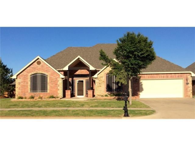 15504 Creek View Drive, Edmond, OK 73013 (MLS #814526) :: Barry Hurley Real Estate