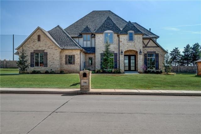 516 Country Club Drive, Edmond, OK 73025 (MLS #814655) :: Homestead & Co